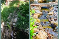 Before-After-Waterfall-Stream-Rebuild-Kansas-City-MO